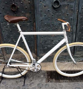 Bicicletta Urban Bike Total White