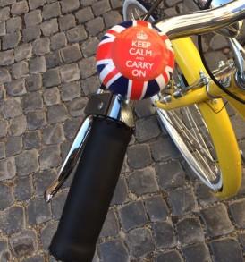 Bicicletta Mod. VINTAGE ITA75 Gialla