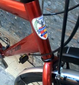 Bicicletta CITY BIKE Acciaio Uomo Rosso