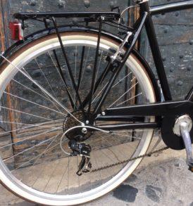 Bicicletta CITY BIKE Alluminio Uomo Nero